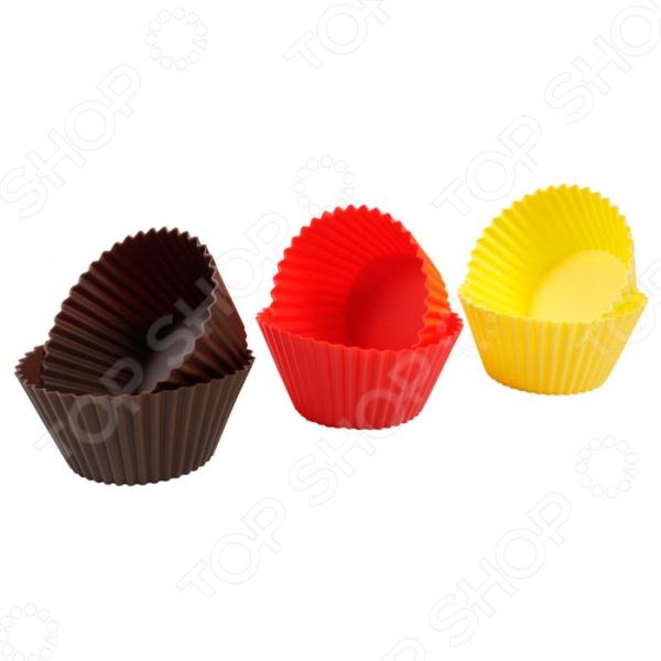 Набор форм для кексов малых 630644 Tescoma Delicia