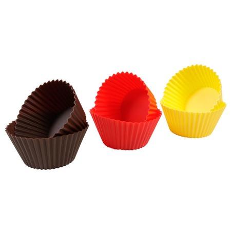 Купить Набор форм для кексов малых 630644 Tescoma Delicia