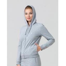 фото Толстовка домашняя женская BlackSpade 5720. Цвет: серый меланж. Размер одежды: M