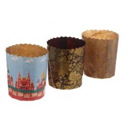 Купить Набор бумажных форм для выпечки куличей Marmiton 11367