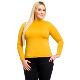 фото Водолазка Mondigo XL 264. Цвет: горчичный. Размер одежды: 52
