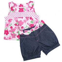 Купить Комплект: кофточка и шорты WWW Pink ribbon. Цвет: розовый