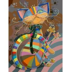 фото Раскраска по номерам Белоснежка 812-AB «Полосатый разбойник»