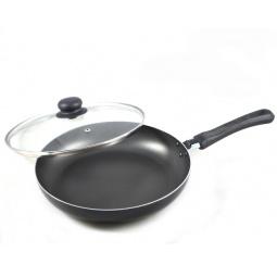 Купить Сковорода Flonal Black&Silver с крышкой