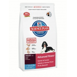 фото Корм сухой для собак Hill's Science Plan Advanced Fitness с тунцом и рисом. Вес упаковки: 3 кг
