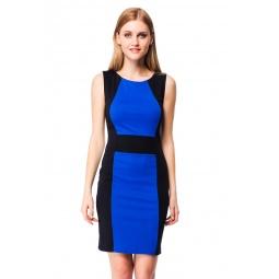 фото Платье Mondigo 5058. Цвет: синий. Размер одежды: 46
