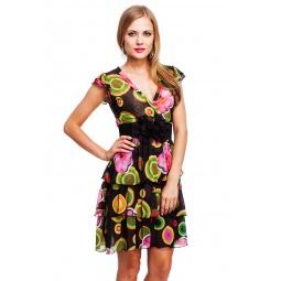фото Платье Mondigo 18594. Цвет: черный. Размер одежды: 46