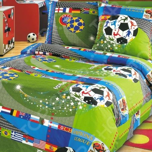 Комплект постельного белья ТексДизайн «Чемпионат». 1,5-спальный