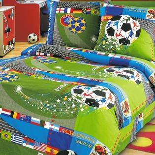 Купить Комплект постельного белья ТексДизайн «Чемпионат». 1,5-спальный