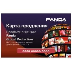 Купить Антивирусное программное обеспечение Panda Global Protection - Renewal Card. 3-Desktop, 1 year