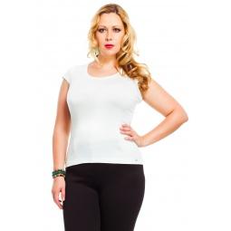 фото Футболка Mondigo XL 7001. Цвет: белый. Размер одежды: 48