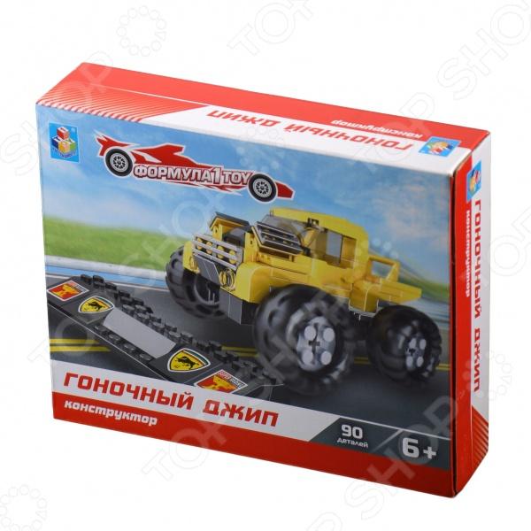 Конструктор игровой 1 Toy «Гоночный джип» Конструктор игровой 1 Toy «Гоночный джип» /