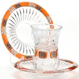 Купить Набор стаканов и блюдца Loraine LR-24680