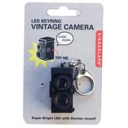 Купить Брелок Kikkerland «Винтажная камера»