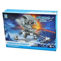Купить Конструктор игровой 1 Toy «Звездный путь. Квадро-робот»
