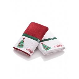 фото Комплект полотенец подарочный TAC New year двухцветный
