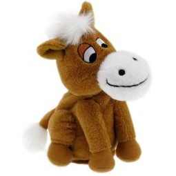 фото Мягкая игрушка интерактивная Woody O'Time «Лошадка Непоседа». Цвет: коричневый
