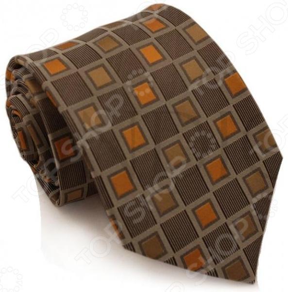 Галстук Mondigo 44159Галстуки. Бабочки. Воротнички<br>Галстук Mondigo 44159 завершающий штрих в образе солидного мужчины. Сегодня классический стиль в одежде приветствуется не только на работе в офисе. Многие люди предпочитают в качестве повседневной одежды костюм или рубашку с галстуком. Мужчина, выбирающий такой стиль в одежде, всегда выделяется среди окружающих и производит положительное первое впечатление. Кроме того, один и тот же галстук можно носить по-разному каждый день. Достаточно выбрать один из многочисленных типов узлов: аскот, балтус, кент, пратт и многие другие. Кстати, в интернете есть сайты, которые случайным образом предлагают вариант узла удобно, когда трудно определиться с выбором . Галстук изготовлен из шелка. Ткань довольно прочная, приятная на ощупь и отличается роскошным блеском. Края изделия обработаны лазерным методом.<br>