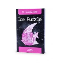 фото Пазл-конструктор 3D Ice Puzzle «Рыбка». Цвет: розовый