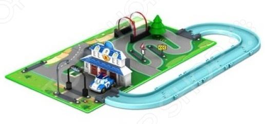 Набор игровой с машинкой Poli «Штаб-квартира» элитная трехкомнатная квартира москва купить