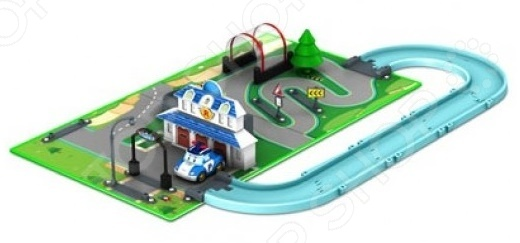 Набор игровой с машинкой Poli «Штаб-квартира» 3 комнатная квартира в казахстане г костанай