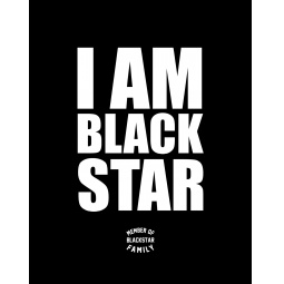 фото Тетрадь в клетку I am Black Star. Member of Black Star Family
