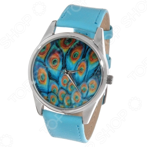 Часы наручные Mitya Veselkov «Павлиньи перья» Color все цены