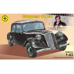 фото Сборная модель автомобиля 1:43 Моделист «Ситроен» 11 CV