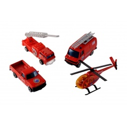 Купить Набор игровой для мальчиков Welly «Служба спасения. Пожарная команда»