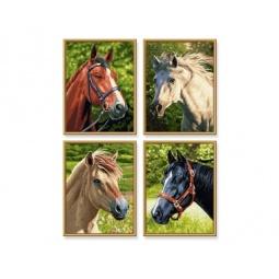 Купить Набор для рисования по номерам Schipper «Лошади»