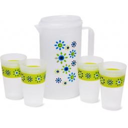 Набор: кувшин и 4 стакана DOSH HOME Grus