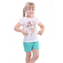 фото Пижама для девочки Свитанак 206425. Рост: 110 см. Размер: 30