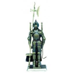 Купить Набор для камина латунный на подставке VORTEX «Рыцарь»