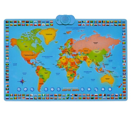 Купить Игрушка интерактивная ZanZoon Карта мира