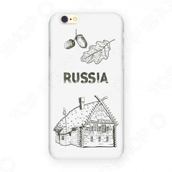 Чехол для iPhone 6 Mitya Veselkov «Русская изба» изба фасад 135 1000x600x50 4шт