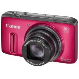 фото Фотокамера цифровая Canon PowerShot SX260 HS. Цвет: красный