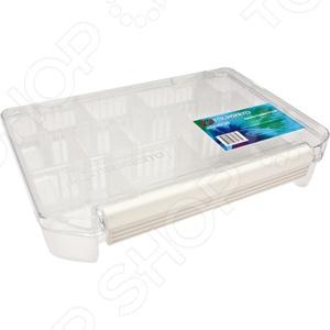 Коробка для хранения приманок Tsuribito со сменными отделениями TF2040Сопутствующие товары для рыбалки<br>Опытные и начинающие рыбаки знают, что успех в рыбной ловле в большинстве случаев зависит от уровня подготовки. Это касается не только выбора качественной и практичной оснастки, но и способов её хранения. Коробка для хранения приманок Tsuribito со сменными отделениями TF2040 важный и незаменимый атрибут, от которого зависит комфорт и удобство рыбака. В нем можно хранить не только приманки, но и прикормку разного вида, мелкие инструменты и запасные части для вашей удочки. Отсутствие такой удобной коробки во много затрудняет рыбалку, ведь все эти предметы приходится хранить в многочисленных пакетиках, сумочках или кармашках. Теперь все приманки можно будет сложить в 11 съемных перегородках, которые позволяют самостоятельно изменять размер каждого отделения, что очень удобно, если вы используете разногабаритную приманку. Дополнительным преимуществом такого приспособления является простота его транспортировки. Так как зачастую до места клева приходится добираться пешим ходом, нужно чтобы все было компактным, поэтому такая пластиковая коробка не добавит большого веса вашей рыбацкой сумке или рюкзаку.<br>