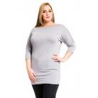 Фото Туника Mondigo XL 8508. Цвет: серый. Размер одежды: 52