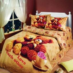 фото Детский комплект постельного белья АртПостель «Любимый мишка»