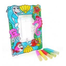 фото Набор для создания витражной фоторамки Color Puppy «Морской мир» 95183