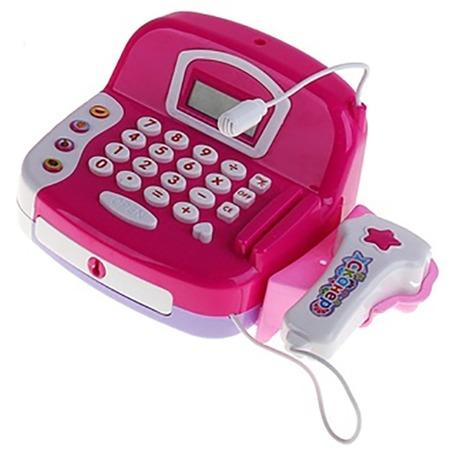 Купить Игровой набор для девочки Shantou Gepai «Касса электронная со сканером». В ассортименте