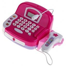 фото Игровой набор для девочки Shantou Gepai «Касса электронная со сканером». В ассортименте