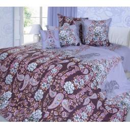 фото Комплект постельного белья Белиссимо «Мадлен». 2-спальный. Цвет: бордовый