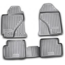 Комплект ковриков в салон автомобиля Novline-Autofamily Toyota Corolla 2007-2013 - фото 4