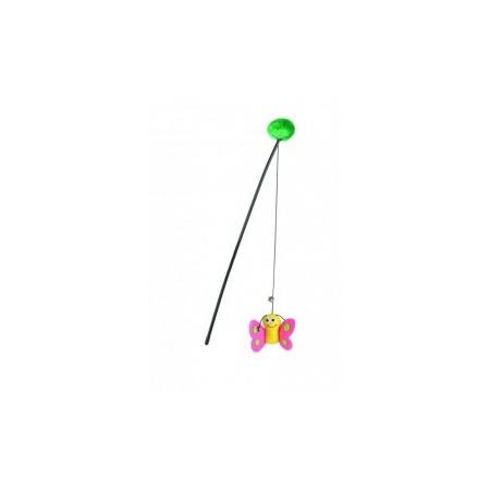 Купить Игрушка для кошек Beeztees «Удочка с бабочкой»