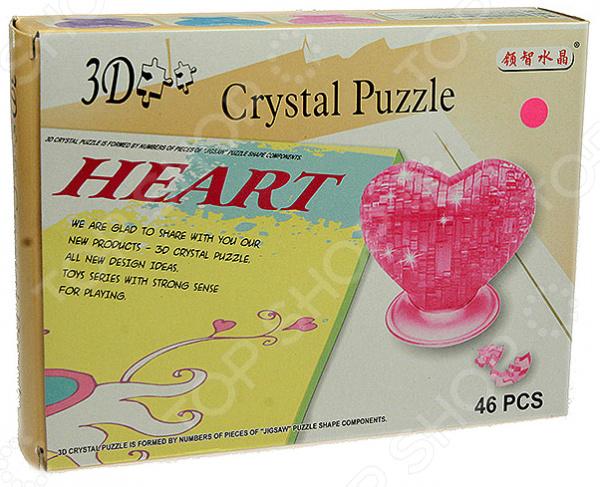 Пазл 3D «Сердце»Пазлы 3D<br>Пазл 3D Сердце предназначен для таких маленьких, но уже таких любознательных малышей. Внутри яркой упаковки находится набор из 46 деталей. Собрав все части воедино, у ребенка получится огромное сердце, которое станет достойным украшением детской комнаты. Пазл 3D Сердце способствует развитию зрительной координации, воображения, пространственного мышления, умения использовать форму предмета, а также мелкой моторики рук ребенка. Кроме того, тренируется наблюдательность, образное восприятие и логическое мышление. Не упустите шанс порадовать своего ребенка замечательным подарком!<br>