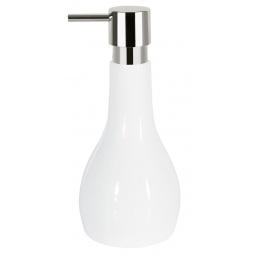 фото Диспенсер для жидкого мыла Spirella Bali. Цвет: белый