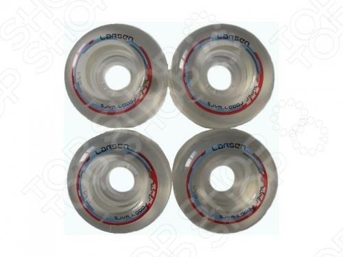 Колеса для скейтбордов Larsen B 85A коньки larsen light р 28