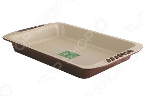 Форма для выпечки металлическая Dekok BW-202Форма для выпечки металлическая Dekok BW-202 станет прекрасным приобретением для тех, кто любит создавать кулинарные шедевры собственными руками. Идеально подойдет не только для приготовления различных запеканок и выпечки, но так же отлично справится с запеканием мяса, овощей, рыбы, птицы и много другого. Форма для выпекания выполнена из высококачественной углеродистой стали, которая отличается своей высокой экологической чистотой, ударопрочностью, износоустойчивостью, жаростойкостью. Эта удивительная форма прослужит вам долго и качественно, сохраняя свой прекрасный внешний вид даже после многолетнего использования. Форма не подвержена образованию ржавчины и воздействию коррозии. Эта практичная посуда займет достойное место среди вашей кухонной утвари, так как не изменяет цвет, вкус выпекаемых блюд, легко моется и не требует особенного ухода. Благодаря керамическому антипригарному покрытию Bioceramix вам не потребуется большое количество масла, поэтому ваша выпечка будет не только вкусной, но и полезной. Изделие легко выдерживает температуру до 230 С. Не подходит для мытья в посудомоечной машине.<br>