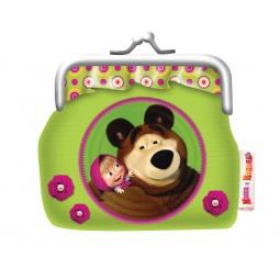 Купить Кошелек Маша и Медведь «Маленькая Модница»